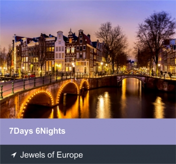 7 Days 6 Nights - Jewels of Europe