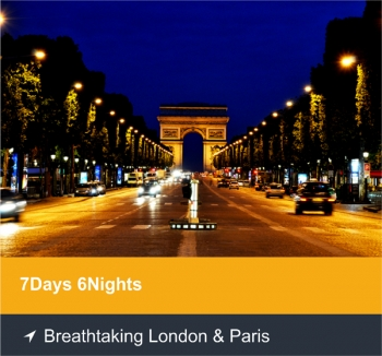 7 Days 6 Nights - Breathtaking London & Paris