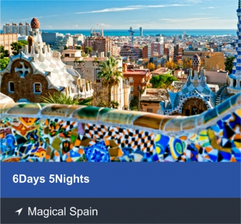 6 Days 5 Nights - Magical Spain